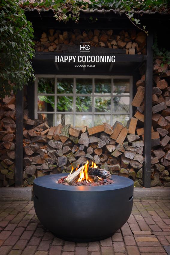 Happy Cocooning vuurschaal